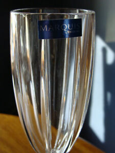 4 MARQUIS OMEGA WATERFORD CRYSTAL CHAMPAGNE FLUTES London Ontario image 4