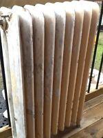Cast Iron radiator 8 ribs working condition