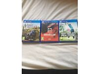 Play station 4 games for sale