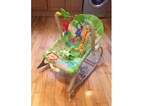 Fisher-Price Rainforest Infant Toddler Rocker