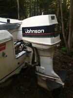 60 hp Johnston outboard motor for sale