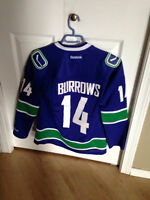 Burrows Canucks Reebok Jersey