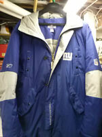 NFL NY GIANTS FOOTBALL DOWN FILLED DELUXE PARKA 2XL MINT