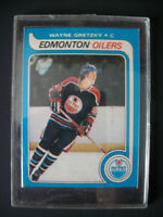 Gretzky NHL OPC Rookie Reprint In Heavy Duty Protector C/stand