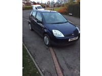 Ford Fiesta 37000 miles, 1 year mot new breaks front and back, may consider a swap
