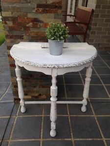 French Provincial Shabby Chic Half circle Rustic distressed RARE! Camden Camden Area Preview