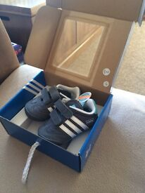 Baby Adidas trainers. New !