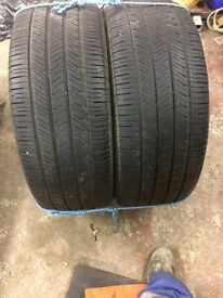 Tyres 255/55/18 Goodyear eagles ls2