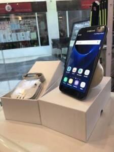Original Samsung Galaxy s7 32gb Black 4G Unlocked 2yrs Warranty Surfers Paradise Gold Coast City Preview