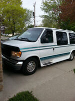 REDUCED to $3500, 1993 Ford E-Series Van CONVERSION , Van