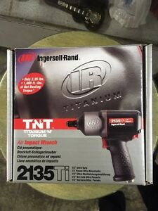 Ingersoll Rand Titanium Air Impact Wrench