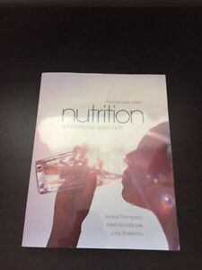 Nutrition a functional approach textbook