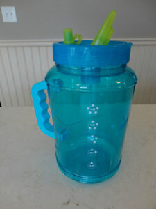 Large Bubba Travel Mug - Clear Blue with Spout Kitchener / Waterloo Kitchener Area image 2