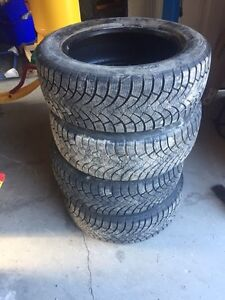 Winter tires with rims, can sell separate