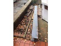 NEW RSJ Universal Steel 280cm x 21cm x 21cm beam for structural support Lintel Door Window RRP £230
