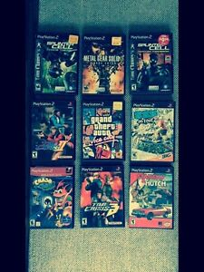 PLAYSTATION 2 in GREAT SHAPE, GAMES, CONTROLLERS!  London Ontario image 2