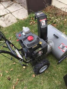 Craftsman snow blower. Needs a fuel line