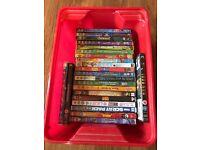 DVDs kids x 23