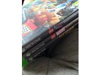 3 working Xbox one games