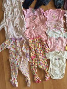 Lot de vêtement 2-4 mois et 3 mois/ baby clothes 2-4m and 3 m West Island Greater Montréal image 3