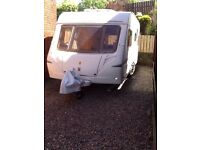 Abbey Vogue GTS 516 2006 5 berth --comes with full size awning