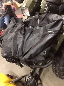 Moto go motorcycle leather jacket and pants Peterborough Peterborough Area image 1