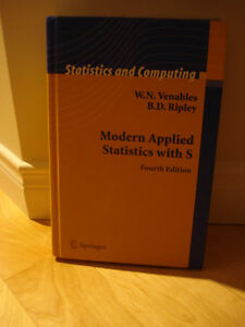 Modern Applied Statistics with S - Fourth Edition