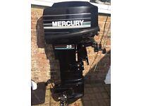 Mercury 25hp LONGSHAFT electric start outboard motor