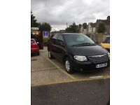 2005 Chrysler voyager limited crd stow and go