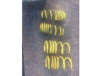 Suzuki swif mk4 2012> APEx -30mm lowering springs.