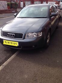 Parts Only Audi A4 B6 Breaking