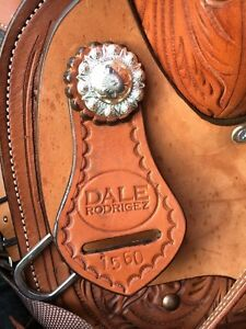 "15""Saddle, cinch, blanket, bridle, bit"