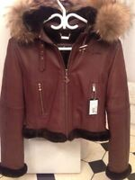 Baby Phat Aviator Hooded Jacket