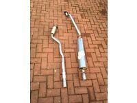 Astra Mk 4 centre box and down pipe
