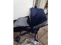 Britax Italian collection pushchair from birth