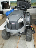 "Craftsman Tractor Mower 42 1/2"" deck, includes $600 accessories"