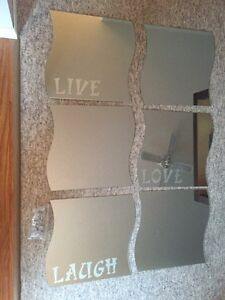 6 piece mirror set Strathcona County Edmonton Area image 1