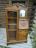 *** PRICE REDUCED*** ANTIQUE SIDE BY SIDE BOOKCASE/DESK