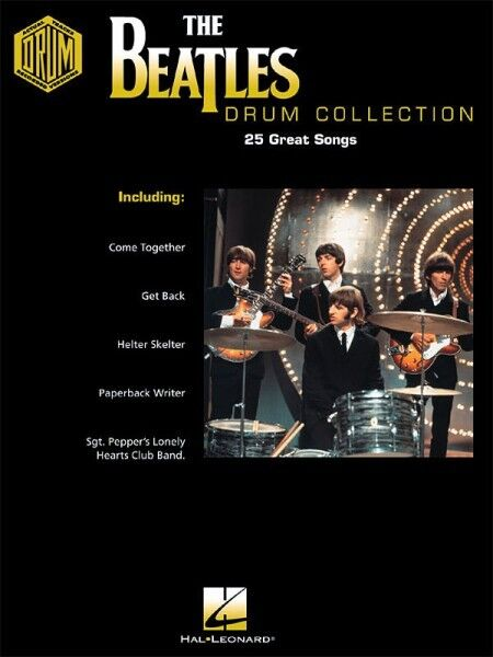 The Beatles Drum Collection Drum Recorded Versions NEW 000690402