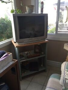 Good working tv and stand London Ontario image 1