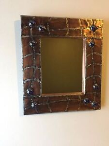 Handcrafted mirror