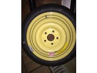 Space saver wheel from 05reg Honda Civic, may fit other honda's also