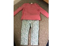 H&M trousers and top size 12-18 months.