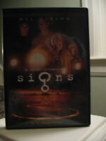 Signs movie DVD Like New