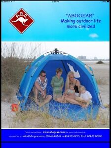 """""""NEW""""         POP- UP INSTANT TENT OR BEACH CABANA"""