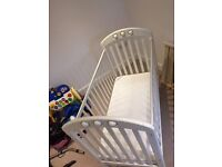 Mama's and Papa's Amelia Cot with Mattress £50