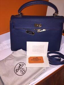 Hermes Kelly Royal Blue
