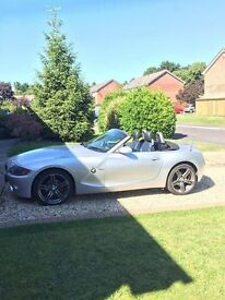 BMW Z4 *LOW MILAGE* *FULL SERVICE HISTORY* *RECENT MOT* *3 NEW TYRES*