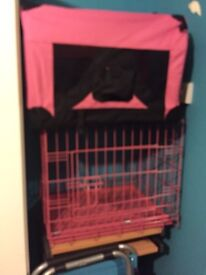 Dog cage and carrier