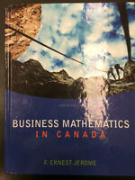 Business Mathematics in Canada by F. Ernest Jerome